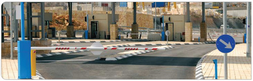 Pneumatic Boom Barrier
